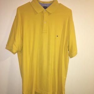 XL Tommy Hilfiger Yellow Polo Shirt